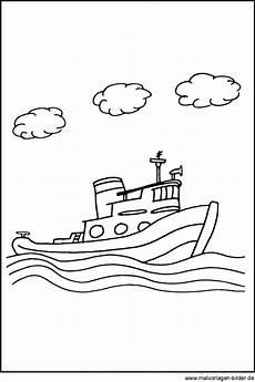 Malvorlage Schiff Einfach Malvorlagen Schiffen Und Booten