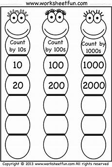 skip counting by 50s worksheets 12075 skip counting by 10 100 and 1000 free printable worksheets worksheetfun