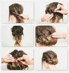 Frisuren Einfach Selber Machen - schnelle und einfache frisuren zum selbermachen