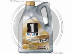 mobil 1 0w40 5 litres of mobil 1 0w 40 fully synthetic