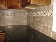 Limestone Backsplash Kitchen New Kitchen Backsplash With Tumbled Limestone Subway Tile