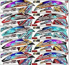 Variasi Fino 125 by Jual Striping Variasi Fino 125 Fi Sticker Stiker Di Lapak