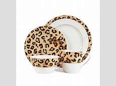 Lauren Ralph Lauren Safari Leopard 4 pc. Place Setting at