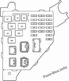Fuse Box Diagram Gt Toyota Prius Xw11 2000 2003