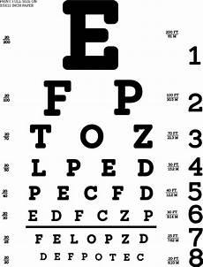Snellen Eye Examination Chart The Digital Automated Eye Exam