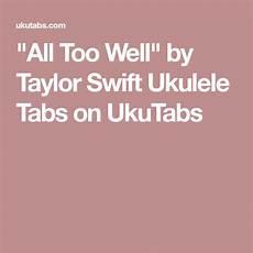quot all well quot ukulele by ukulele tabs ukulele ukulele chords disney