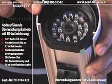 überwachungskamera mit aufzeichnung visortech hochaufl 246 sende 220 berwachungskamera mit sd