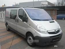 2007 Opel Vivaro Photos Informations Articles