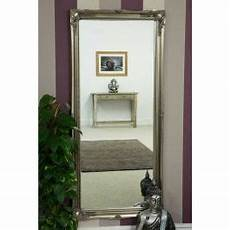 large silver ornate antique design big wall mirror new