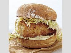 crispy fish sandwiches with wasabi and ginger_image