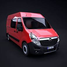 Opel Movano L2h2 3d 3ds