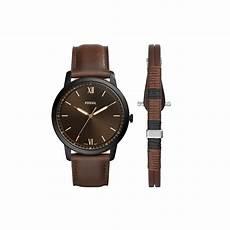 coffret montre et bracelet fossil homme fs5557set pour homme