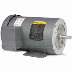 Baldor Motor Cm3555 2 0hp Phase 3450 Rpm 56c Frame