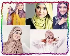 Cara Memakai Jilbab Pashmina Kreasi Segi Empat Dengan