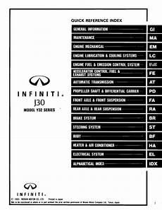 free car repair manuals 1994 infiniti j on board diagnostic system infiniti j30 model y32 series 1994 service manual pdf online download