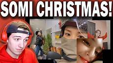 merry christmas from somi reaction youtube