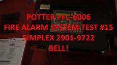 Potter Pfc 6006 Mini Alarm System Test 15 One