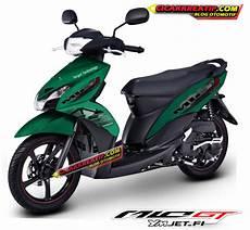 Stiker Motor Mio Gt Keren by Modifikasi Motor Yamaha Mio J Dengan Menggunakan Stiker