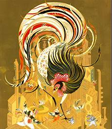 coloring pages fairies images 16623 victo ngai apple lucky rooster