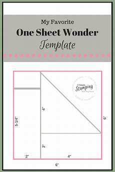 one sheet wonder template for batch card making one sheet wonder card making templates