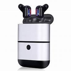 True Wireless Mini Portable Dual Wireless by Kitbeez True Wireless Bluetooth Earbuds With Power Bank