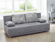 schlaf couch schlafsofa couch 201x96cm grau funktionssofa schlafcouch