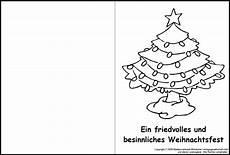 weihnachtskarte zum ausmalen 11 medienwerkstatt wissen