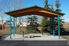 Shelter Metal by Steel Picnic Shelters Custom Park Leisure