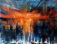soleil sur la mer mjg artiste peintre