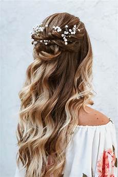 Half Up Hairstyles half up half hairstyles we re loving right now