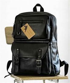 jual tas ransel kulit import pria kerja travel backpack 1942 di lapak hoppola hoppola
