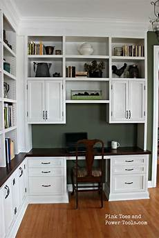 diy home office furniture diy home office built in bookshelves right side view
