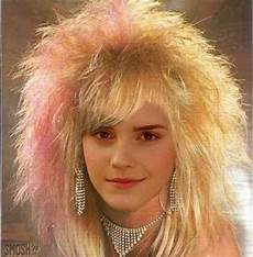 Simple 80s Hairstyles