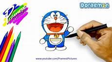 Doraemon Cara Menggambar Dan Mewarnai Gambar Kartun