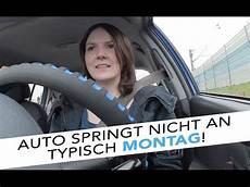 Auto Springt Nicht An Typisch Montag Vlog 4 Sabrina