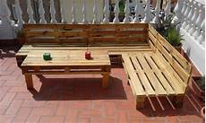 canapé exterieur en palette some wonderful pallet l shape sofa set pallets designs