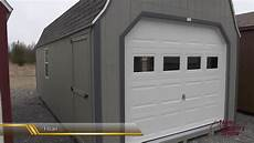 prefab garage sheds portable garages sheds with garage doors youtube