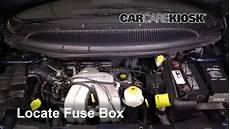 Interior Fuse Box Location 2001 2004 Dodge Grand Caravan