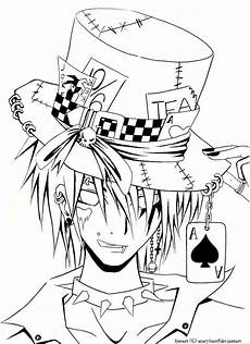 coloring pages of anime boys at getcolorings free