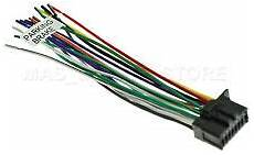 pioneer car audio video wire harnesses for sale ebay