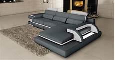 canape gris blanc deco in 3 canape d angle cuir gris et blanc design
