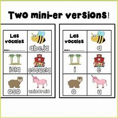 spanish vowels mini book las vocales by leigh sanna tpt
