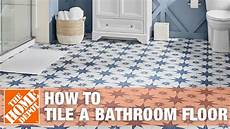 How To Install Bathroom Floor Tile
