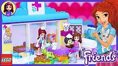 Malvorlagen Lego Friends Junior Lego Friends Juniors S Vet Clinic Build Review Silly