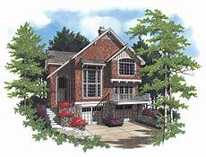 sloped lot house plans plan 6884am sloping lot country cottage craftsman style