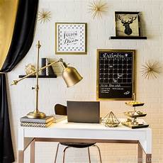 Home Decor Ideas Gold by Black And Gold Pair Together For A Stylish