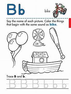 preschool worksheets letter b 24456 trace letter b worksheets activity shelter