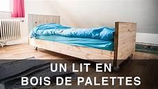faire un lit en bois lit en bois de palettes
