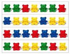 patterns eyfs worksheets 78 teddy patterning strips by teachers pay teachers