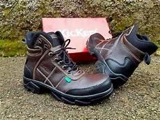 jual kickers boots safety brown kulit sepatu pria sepatu touring j57 di lapak bbralow bbralow